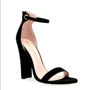Shoe Republic LA Newport Vegan Block Heels 8